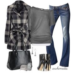 """Cloudy Autumn Morning"" by archimedes16 on Polyvore"