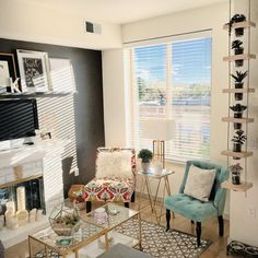 One Woman and Her Dachshund Share a Stylish Studio in Denver | Apartment Therapy