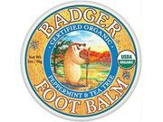 #Badger Foot #Balm 2oz Tin Peppermint & Tea Tree
