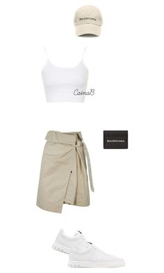 """Untitled #215"" by cainabrown on Polyvore featuring Balenciaga, Isabel Marant, Valentino and Topshop"