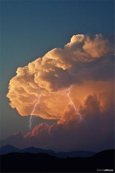 "my-shadow-box: "" atmospheric-phenomena: "" Storm and lightning by Francis Atienza "" "" All Nature, Science And Nature, Amazing Nature, Storm Clouds, Sky And Clouds, Thunder Clouds, Beautiful Sky, Beautiful Pictures, Beautiful Landscapes"