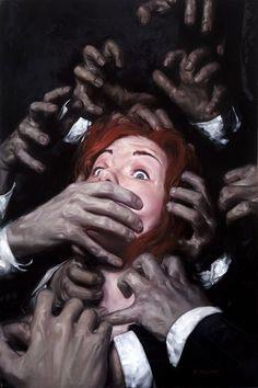 David Palumbo: a freelance illustrator known for dark, atmospheric genre illustration. Arte Inspo, Kunst Inspo, Arte Horror, Horror Art, Arte Peculiar, Arte Obscura, Illustration Art, Illustrations, A Level Art