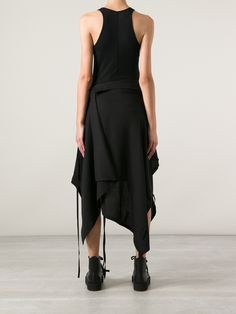 Yohji Yamamoto | Apron Skirt | I shudder to think what it cost. Visit the page for designer clothing. a few are copy worthy.