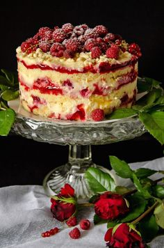 Lemonade and Raspberry Layer Cake - Inspired by Momofuku Milk Bar's frosting-less cakes, this lemon and raspberry combo is a feast for the eyes and a tangy summer delight.