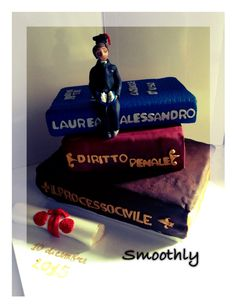 La torta di laurea per io figlio by Ida di smoothly