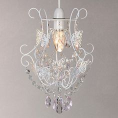 Little Home at John Lewis Little Fairy Chandelier Lampshade £30