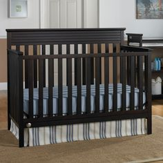 Have to have it. Fisher-Price Newbury 4-in-1 Convertible Crib - $189.99 @hayneedle This is the one