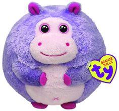 5286819fe0d Amazon.com  Ty Beanie Ballz Dewdrop The Hippo (Large)  Toys  amp