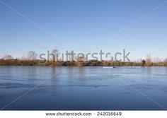 #Frozen #Lake #Kings #Village #Landscape @Shutterstock #Shutterstock #nature #bluleskly #burgenland #königsdorf #austria #winter #season #stock #photo #portfolio #download #hires