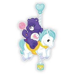 Care Bear Carnival: Sweet Dreams Bear Pony Blue Balloon Wall Graphics