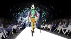 Goofy, totally slaying the runway
