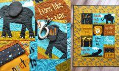 Turn the Moda Safari Life Soft-book Panel into a Fabulous Quilt