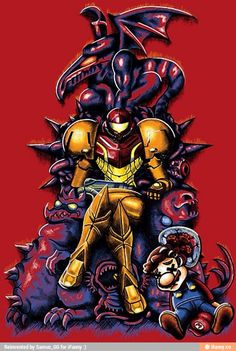 Metroid Game of Thrones.