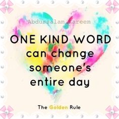 """""""The Golden Rule"""""""