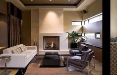 A very cool contemporary stone fireplace mantel in West Vancouver's British properties. Designed and fabricated by Shawn Dingman of Vancouver British Collumbia Canada. Stone Fireplace Mantel, Fireplaces, Home Goods, Couch, Contemporary, Cool Stuff, Vancouver, Furniture, British