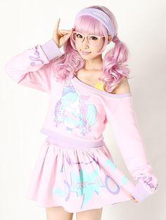 ♥ ロリータ, Sweet Lolita, Lolita, Loli, Pastel, Decora,Victorian, Rococo ♥ via My Darling Rainbow http://mydarlingrainbow.tumblr.com