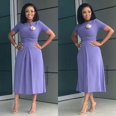 This Week Fashionista: Media Personality Serwaa Amihere Fashion Ruk - Corporate Styles Classy Gowns, Classy Dress, Elegant Dresses, Classy Work Outfits, Chic Outfits, Dress Outfits, Latest African Fashion Dresses, African Print Fashion, African Attire