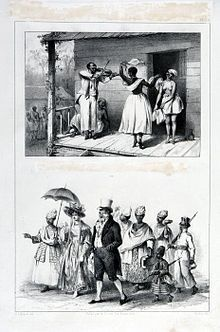 Slavery in Africa - Slaves in Suriname, early 19th century