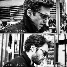 "597 Beğenme, 3 Yorum - Instagram'da S E B B Y•S T A N (@sebbystanxbuckybarnes): ""Oh how things can change in a year. • • • • • • • #sebastianstan #wintersoldier #sebastianstanfan…"""