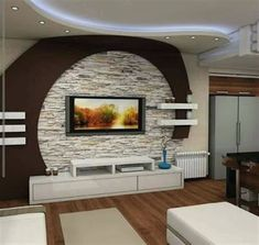 The best catalogue for modern TV cabinet designs and TV wall units design ideas for living room interior walls, with expert tips on how to choose these tv wall cabinets in your modern home of 2019 - 2020 Modern Tv Cabinet, Tv Cabinet Design, Modern Tv Wall Units, Tv Wall Design, Wall Unit Designs, Living Room Tv Unit Designs, Pop False Ceiling Design, Ceiling Design Living Room, Tv Wall Decor