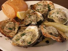 Charbroiled oysters... Making this for dinner tonight!! sHhhh! its a secret :) Trying Martha's Vineyard, Nova, and Wianno oysters