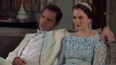 Chuck and Blair judging.