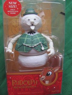 SAM THE SNOWMAN Figure 2010 mid-sized rudolph misfit toys NEW