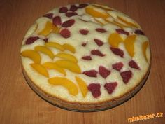 Ovocný koláč ze zakysané smetany podle Pohlreicha