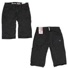 Buena Vista Jeans Malibu short black - Absolute Eyecatcher sind die schräge 4-Knopfleiste sowie die schrägen Gesäßtaschen!   Eine Jeans in der Nicht-Farbe Schwarz ist ein Must Have für jeden Kleiderschrank: Schwarz macht schlank und mogelt optisch die ein oder andere Problemzone weg. Zudem harmoniert die Nicht-Farbe mit jeder beliebigen Nuance. Der treue Begleiter von Buena Vista kann im Alltag mit einem coolen Shirt und Sneakers, aber auch zu besonderen Angelegenheiten in Verbindung mit…