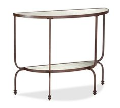 Willow Demilune Console Table | Pottery Barn