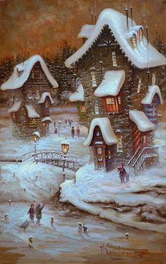 """Luz de invierno de rayas"" by Dmitry Krutous  (Ucrania)"