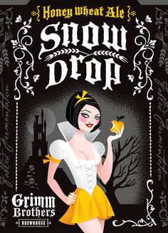 """Grimm Brothers """"Snow Drop,"""" Designed by Tenfold Collective"""