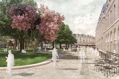 West 8 Wins Competition for Place Gambetta, Bordeaux #france #design #competition