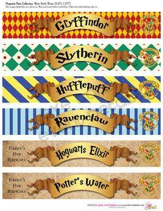Bilderesultat for harry potter candy printables
