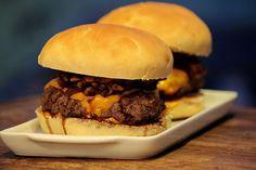 Mel e Pimenta: Hambúrguer de shimeji com pão caseiro