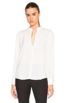 Image 1 of A.L.C. Danielle Top in Eggshell