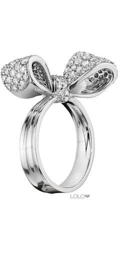 MIMI SO BOW DIAMOND RING