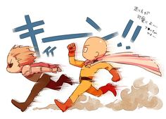 One-Punch Man | Chibi Saitama and Genos