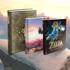The Legend of Zelda   Produkte   Zelda Breath of the Wild-Lösungsbücher
