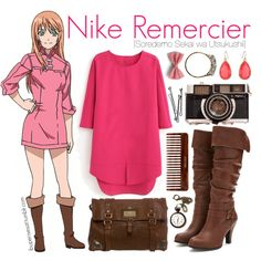 Nike Remercier [Soredemo Sekai wa Utsukushii] by ibuperisesat Cartoon Outfits, Anime Outfits, Girly Outfits, Casual Outfits, Cute Outfits, Fashion Outfits, Style Fashion, Anime Inspired Outfits, Disney Inspired Fashion
