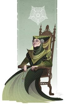 "mrjamesgifford: """"War is War, but killing a man at a wedding? Horrid. What sort of monster would do such a thing? as if men needed more reasons to fear marriage."" - Olenna Tyrell, The Queen of Thorns. """