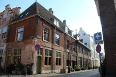 Leiden, Netherlands. Leiden American Pilgrim Museum (image 1 of 4).  The museum is housed in a building dating to about 1365-1370. The house is located at Beschuitsteeg 9, next to the bell tower of Hooglandse Kerk (church). The museum is operated by the Leiden American Pilgrim Museum Foundation and is open to the public Wednesday through Saturday (1 - 5 pm).