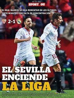 El Sevilla enciende la liga
