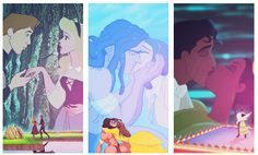 Sleeping Beauty, Tarzan, and The Princess and The Frog