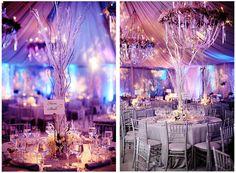 decorating winter wonderland christmas | Katherine Heigl's Winter-Inspired Wonderland | MADDY K WEDDINGS ...