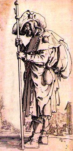 The Camino, Medieval Art, Walking Sticks, Pilgrimage, Priest, 17th Century, Paths, Book Art, Saints