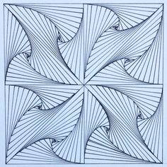 #square #geometry #symmetry #tiling #pattern #tessellation #Escher