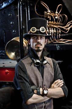 Evil Genius or Steampunk Don Juan....whatever he's a handsome devil...
