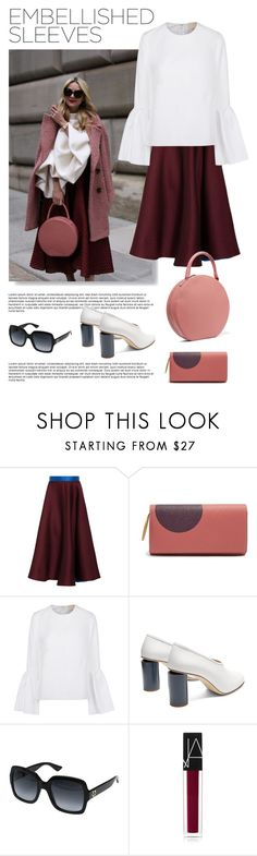 """""""sleeves"""" by fabuluz on Polyvore featuring Roksanda, Acne Studios, Gucci, NARS Cosmetics, Mansur Gavriel, sleeves and embellishedsleeves"""