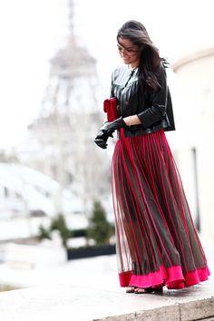 Look do dia: Paris is burning! Mariah Bernardes, Paris Is Burning, Modest Outfits, Ideias Fashion, Fashion Inspiration, My Style, Blog, Free, Look Do Dia